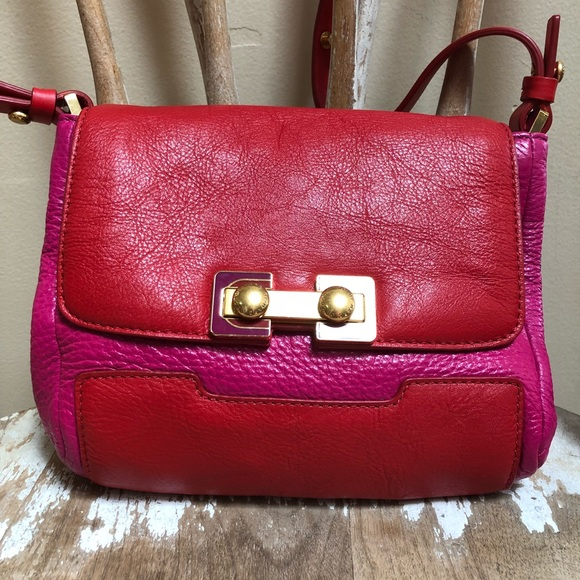 687cc46db89 Marc by Marc Jacobs crossbody bag - red & pink